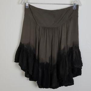 Free People Size L ombre skirt